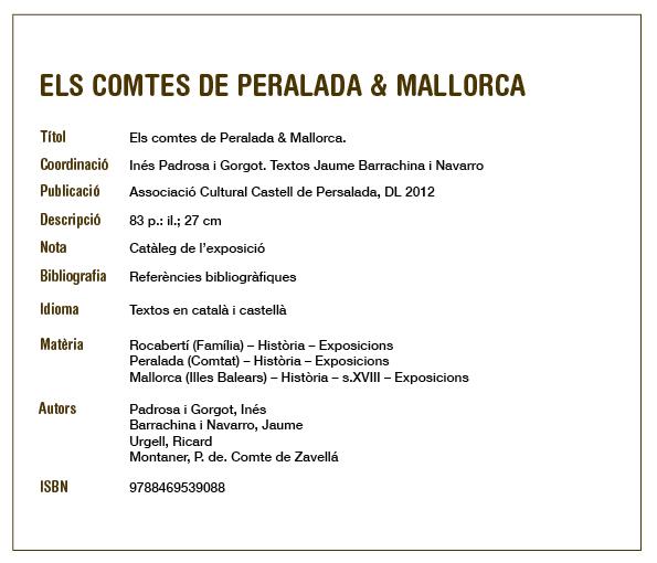 fitxa COMPTES DE MALLORCA
