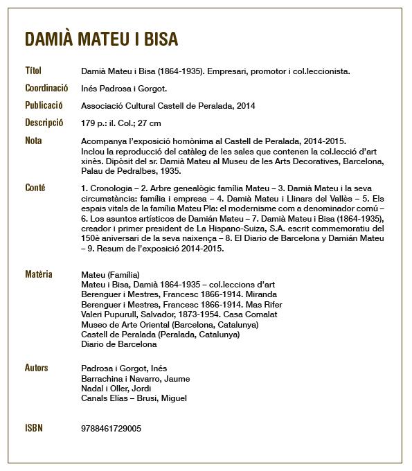 fitxa Damia Mateu i Bisa