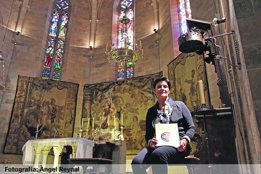 Inés Padrosa: A partir d'ara ens mirarem l'església i el convent del Carme amb uns altres ulls